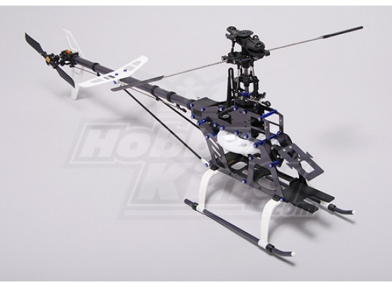 HK-450 CCPM 3D kit helicóptero Barebone (Align T-rex Compat.)