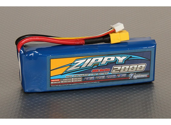ZIPPY Flightmax 2800mAh 3S1P 30C