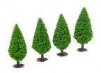 HobbyKing™ 70mm Scenic Model Trees with Base (4 pcs)