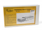 Micro Engineering HO Scale Transworld Truck Terminal Kit (55-005)
