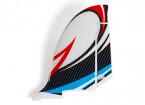 HobbyKing Bixler 2 EPO 1500mm - Replacement Vertical Fin (Blue/Red)