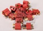 Nylon T-conectores 10 pares (20pc)