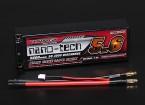 Turnigy nano-tecnologia 5600mAh 2S2P 50 ~ 100C Hardcase Lipo Pack (ROAR aprovado)