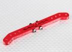 Pesado 3.6in Dever Alloy Pull-Pull Servo Arm - Futaba (vermelho)