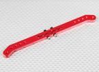 Pesado 5.1in Dever Alloy Pull-Pull Servo Arm - JR (vermelho)