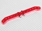 Pesado 3.6in Dever Alloy Pull-Pull Servo Arm - Hitec (vermelho)