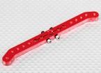 Pesado 4.2in Dever Alloy Pull-Pull Servo Arm - Hitec (vermelho)