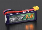 Turnigy nano-tecnologia 1800mAh 2S 65C ~ 130C Lipo pacote
