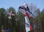 Durafly ™ Bravado - Precision 3D Aerobatic Sports Plane 1.000 milímetros (PNF)