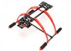 FPV leve multifunções 200 milímetros alta Landing Gear Set for Multi-Rotores (Black)