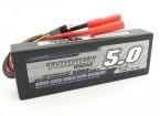 Turnigy 5000mAh 2S2P 40C Hardcase Pack (ROAR aprovado)