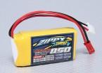 ZIPPY Compact 850mAh 2S 25C Lipo pacote