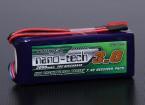 Turnigy nano-tecnologia 3000mAh 2S2P 20 ~ 40C Lipo Receiver Pacote