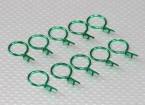Clipes grande corpo-ring (verde) (10pcs)