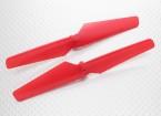 HobbyKing Q-BOT Quadrotor - Hélice (vermelho) (1pair)