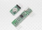 Superheterodyne 3400 Módulo receptor sem fio e 315RF transmissor sem fio
