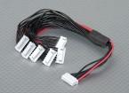 JST-XH Parallel chumbo Balance 5S 250 milímetros (6xJST-XH)