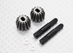 Diff Unidade engrenagem w / Pin - 1/10 Quanum Vandal 4WD Corrida Buggy (2sets)