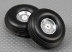 50 milímetros (2 polegadas) Leve liga Scale Conjunto da roda (2pc)