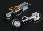 Turnigy Full Metal Servoless retrair com 80mm Pernas óleo (90 graus)
