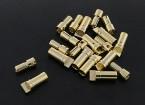 3,5 milímetros de ouro Compact Connector (10pairs)