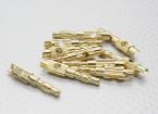 4 milímetros banhado a ouro Banana Plug (10pc)
