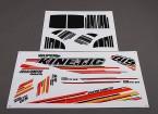 Super Kinetic - adesivos de reposição (2pcs / set)
