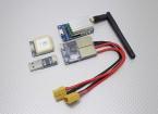 Skylark All-in-1 OSD (2.4G TX) 500mW com câmera e GPS