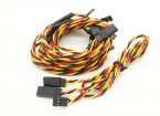 60cm torcido Y Servo Leads (JR) 24AWG (5pc)