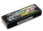 Turnigy nano-tech final 6600mAh 2S2P 90C Hardcase Lipo Pack (ROAR & BRCA Aprovado)