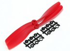Turnigy Slowfly Hélice 8x4.5 Red (CCW) (2pcs)