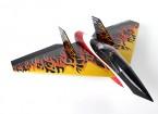 Delta foguete alta velocidade asa - 640 milímetros Preto (ARF)