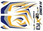 HobbyKing® Bix3 instrutor 1.550 milímetros - Substituição Decal Set