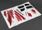 HobbyKing ™ Wingnetic 805 milímetros - Substituição Decal Set