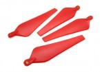 Multirotor hélice dobrável 8x4.5 Red (CW / CCW) (2pcs)