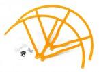 12 Inch Plastic Universal Multi-Rotor hélice Guard - Amarelo (2set)