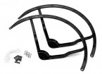 9 Inch Plastic Multi-Rotor hélice Guard para DJI Fantasma 2 - Black (2set)