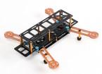 Dardo 250 FPV Drone w / Distribuição de Energia, limpo e sujo e iluminação LED