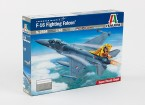 Italeri 1/48 Escala F-16 Fighting Falcon Kit Plastic Modelo