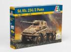 Italeri Sd.Kfz escala 1/35. Kit 234/2 Puma Pastic Modelo