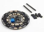 Universal 12-way hub de distribuição 120A Multirotor Poder W / LEDs e dupla BECs