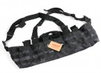 SWAT Cordura Molle Frente Chest Rig (Kryptek Typhon)