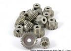 Projeto da revolução Ultra alumínio 48 Afastamento Pinhão 18T (1 peça)