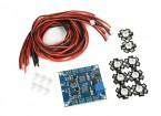 Freqüência Ajustável Octocopter LED Module Set