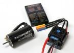 Turnigy 150A impermeável Brushless ESC, Motor e Programação Cartão Combo para 1/8