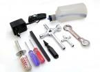 Turnigy Nitro Motor Starter Pack com conjunto de ferramentas (1 / 10th-1 / 8o)