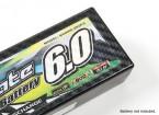 Painéis TrackStar decorativa tampa da bateria para Pattern 2S Padrão Hardcase Transparência carbono (1pc)
