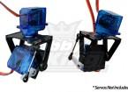 FPV Fiberglass Pan-Tilt Mount Camera