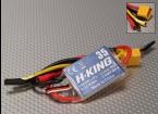 H-KING 35A Asa fixa Brushless ESC w / XT60 3,5 milímetros balas.