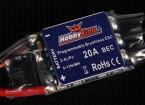 HobbyKing 20A BlueSeries Brushless Controlador de velocidade
